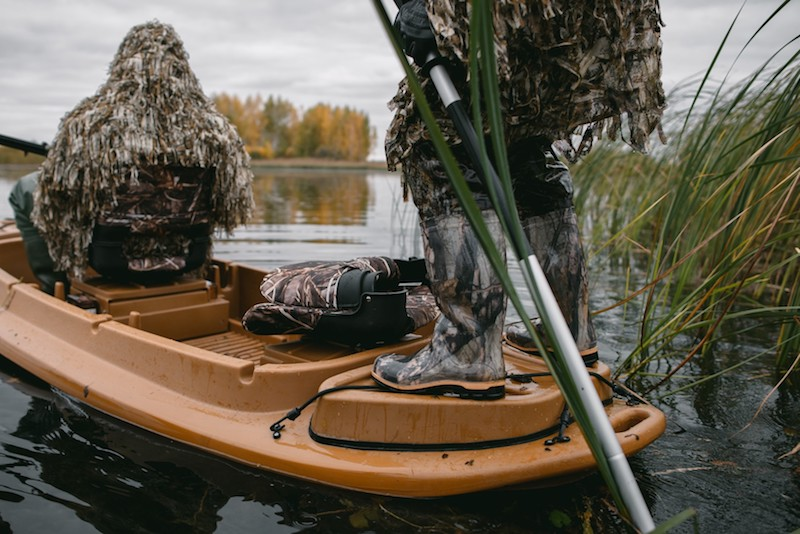 Лодка для подбора дичи