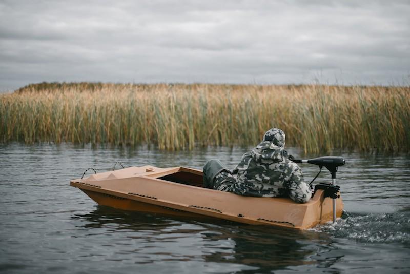 лодка охотничья скрадок